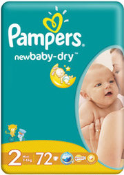 Pampers New Baby-Dry 2 Mini фото
